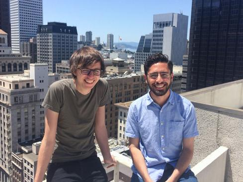 Ben Firshman and Aanand Prasad of Orchard Laboratories.(Source: Docker)