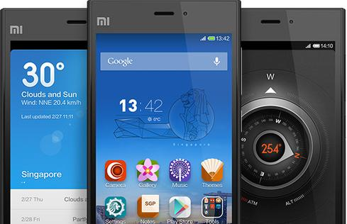 Xiaomi's Miui interface puts a custom face on Android.