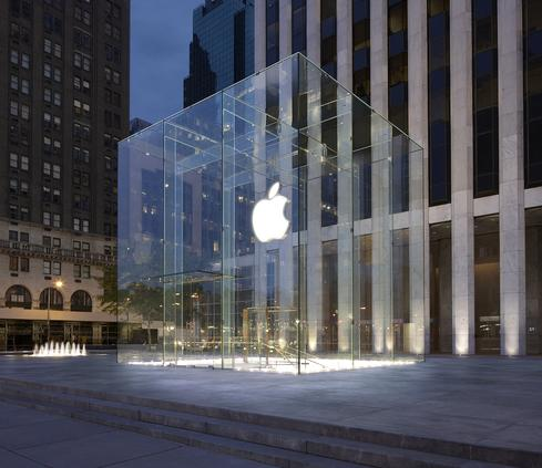 Apple's Fifth Avenue store in Manhattan (source: Apple)