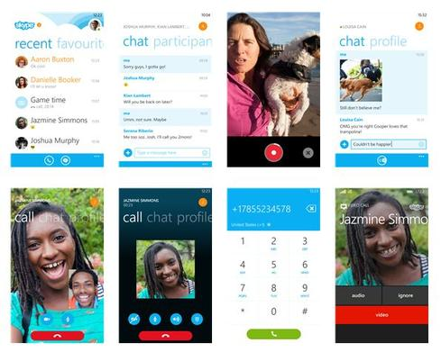 Skype for Windows Phone 8/8.1(Image: Windows Phone Apps + Games Store)