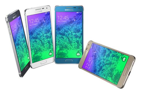 Samsung's Galaxy Alpha