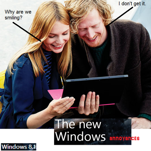 Windows 8.1: 8 Things I Hate About You