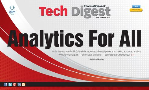 Analytics For All, No Data Scientists Needed