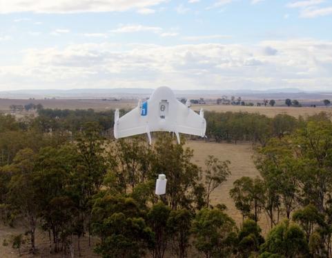A Google drone.