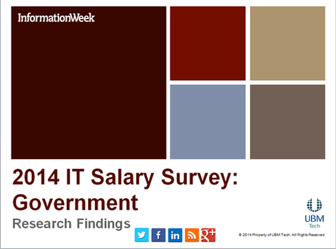 IT Salary Survey 2014: Government