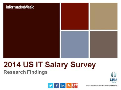 IT Salary Survey 2014