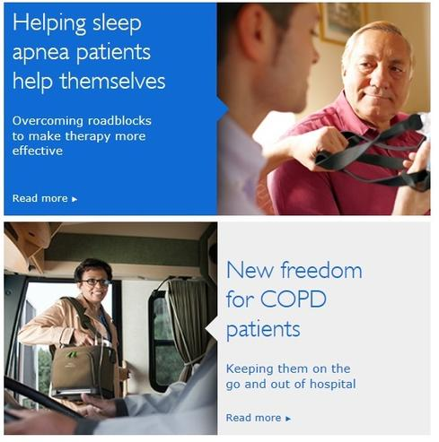 Philips Healthcare is a leading manufacturer of health monitoring devices, many of which can now be connected and used by patients at home.