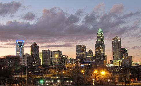 Charlotte, N.C., skyline.(Source: Riction)
