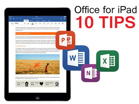 Office For iPad: 10 Tips