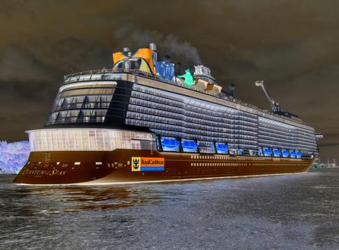Royal Caribbean's Quantum of the Seas (Image: Glyn Lowe Photoworks/Flickr)