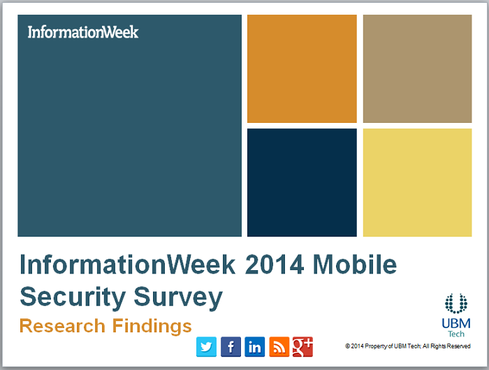 InformationWeek 2014 Mobile Security Survey