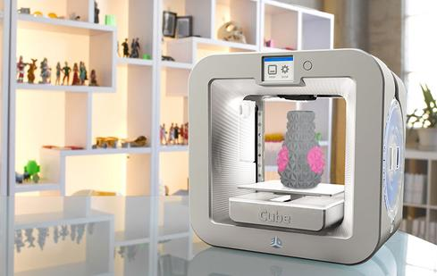 The Cube 3D printer lists for $999. (Image: Cubify)