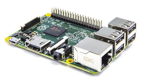 The Raspberry Pi 2 is a bump in power and speed from the original.  (Image: Raspberry Pi Foundation)