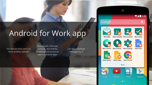 Android For Work Brings Google To The Office