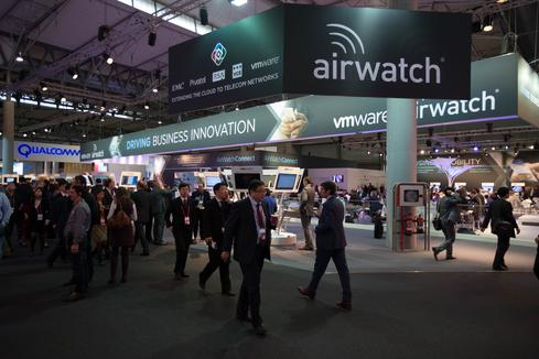 MDM was a hot topic at MWC earlier this month.  (Image: Pablo Valerio)