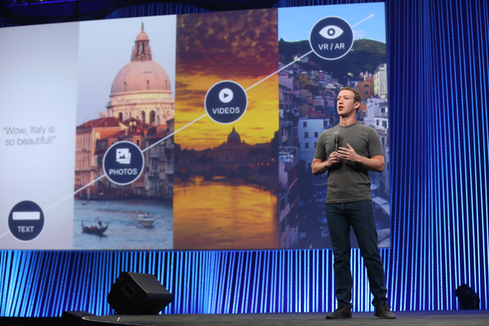Zuckerberg At F8: Facebook Is A Family Of Apps