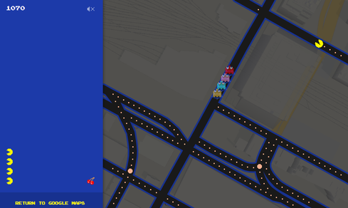 April Fools' 2015: Google Maps Pac-Man Game, Microsoft Code, More