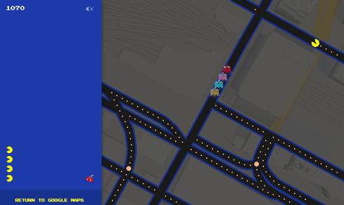 April Fools' 2015: Google Maps Pac-Man Game, Microsoft Code, More