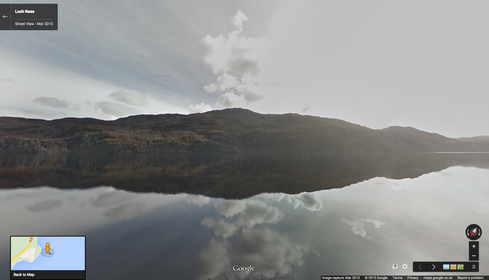 Google Maps Lets Users Search For Loch Ness Monster