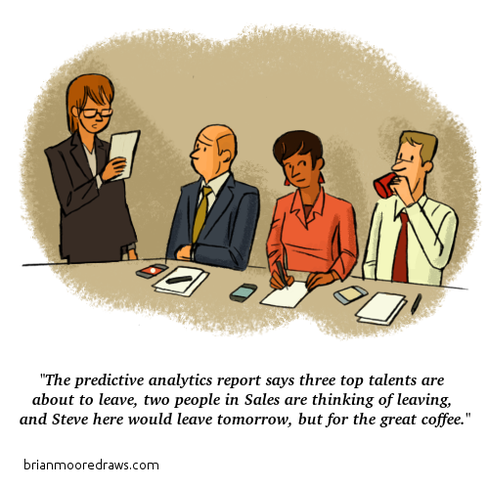 Comic: HR Analytics