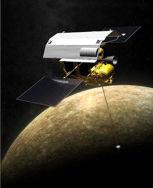 NASA MESSENGER Prepares For Impact On Mercury