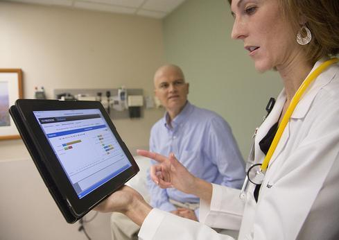IBM believes that healthcare is the key to Watson's growth. 