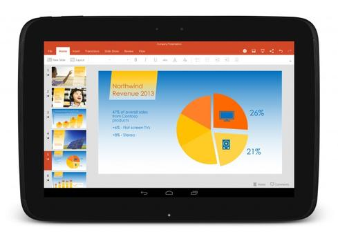 Microsoft Office Coming To 20 More Android Tablets