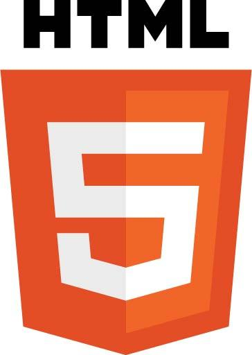 (Image: HTML5 logo and wordmark by W3C. Licensed under CC BY 3.0 via Wikimedia Commons.)