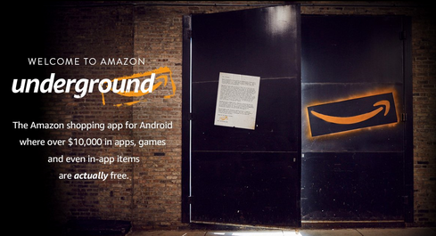 Amazon Underground Makes In-App Goods Free