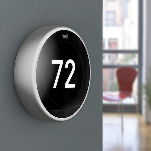 Google's Nest Thermostat Gets Redesign