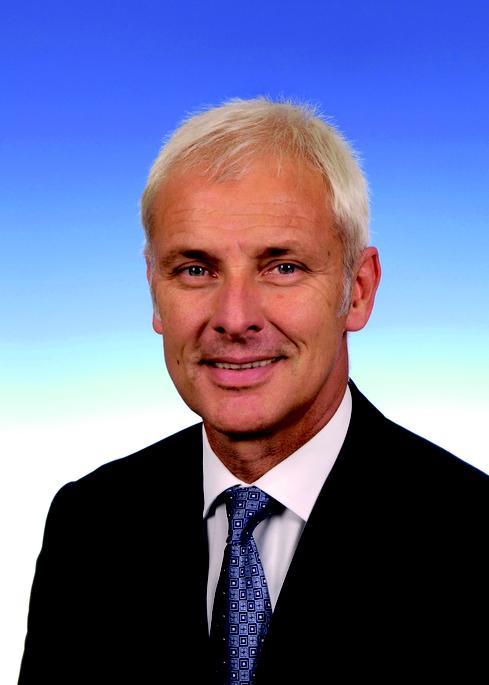Matthias Muller, CEO, Volkswagen AG (Image: Volkswagen AG)