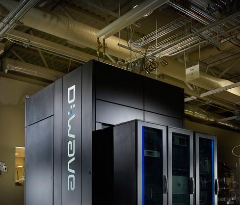 The D-Wave 2X computer, capable of containing more than 1,000 qubits.