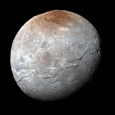 NASA's New Horizons Reveal Charon's Violent Past