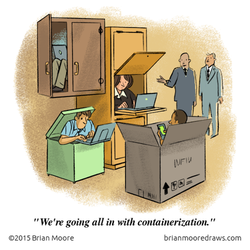 Comic: Containerization Taken To Extremes