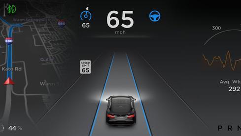 Tesla Autopilot (Image: Tesla)
