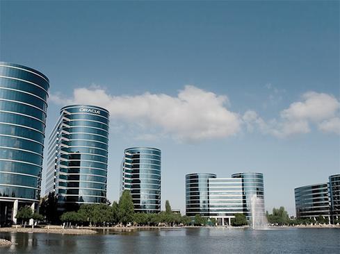 (Image: Oracle headquarters via Oracle)