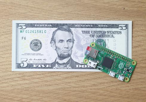 Raspberry Pi Zero Lists For Just $5