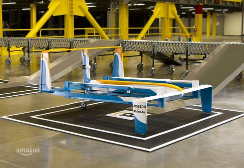 Amazon Revisits Prime Air Delivery By Drone