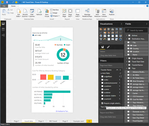 Microsoft Integrates Cortana, Power BI