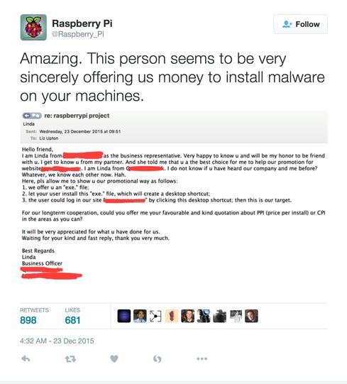 (Image: Raspberry Pi Foundation via Twitter)
