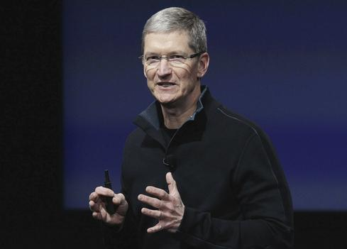 Tim Cook Talks iPhone Sales At Apple Town Hall