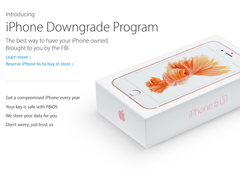 (Image: Apple website, altered as commentary)
