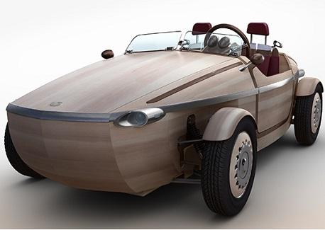 Toyota Crafts Setsuna Concept Electric Car From Wood  InformationWeek