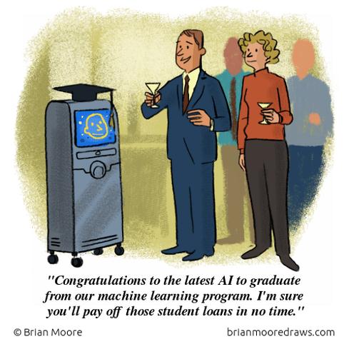 machine comic