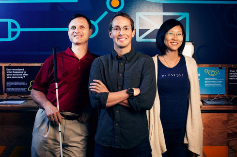 Facebook's Accessibility Team (Image: Facebook)