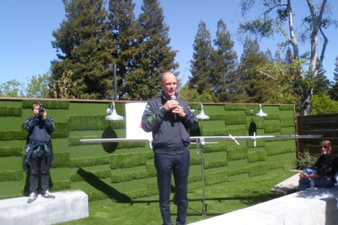 Solar Impulse Flight Makes Silicon Valley Stopover