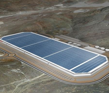 Tesla Unveils Gigafactory As Production Ramps Up