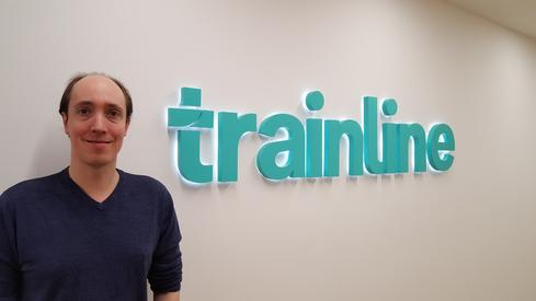 Chris Turvil of Trainline