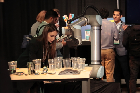 AI and robotics at CES UnveiledImage: Joao-Pierre S. Ruth