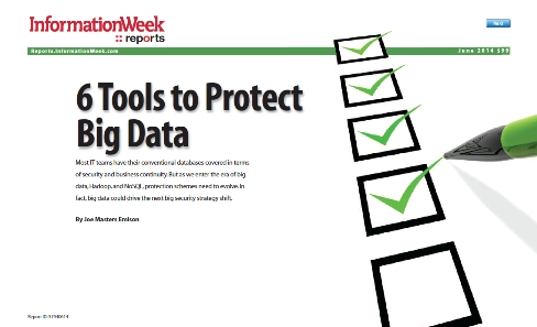 6 Tools to Protect Big Data
